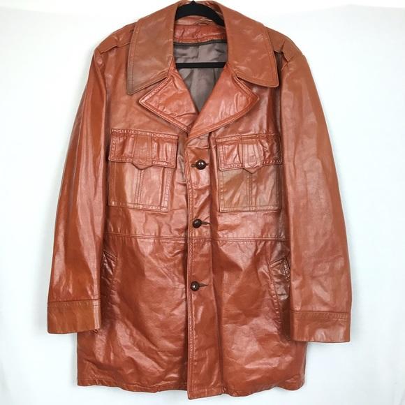 3bdff121d VINTAGE // 70's Leather Jacket